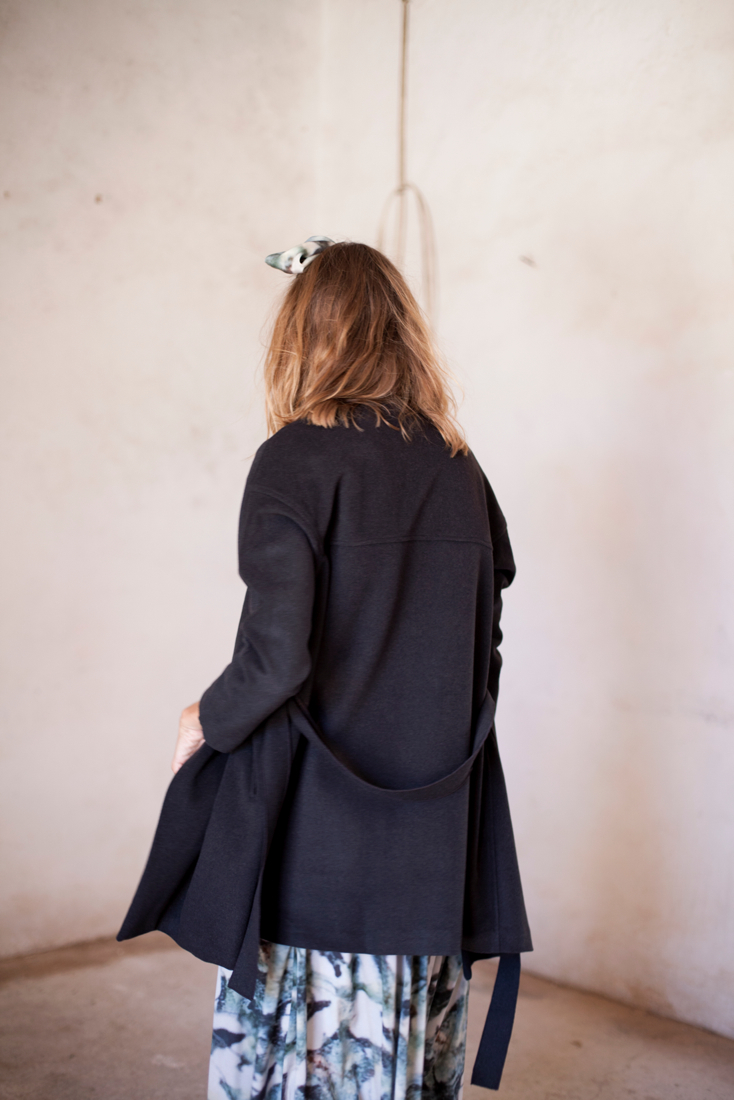 Kimono Cashmere Coat