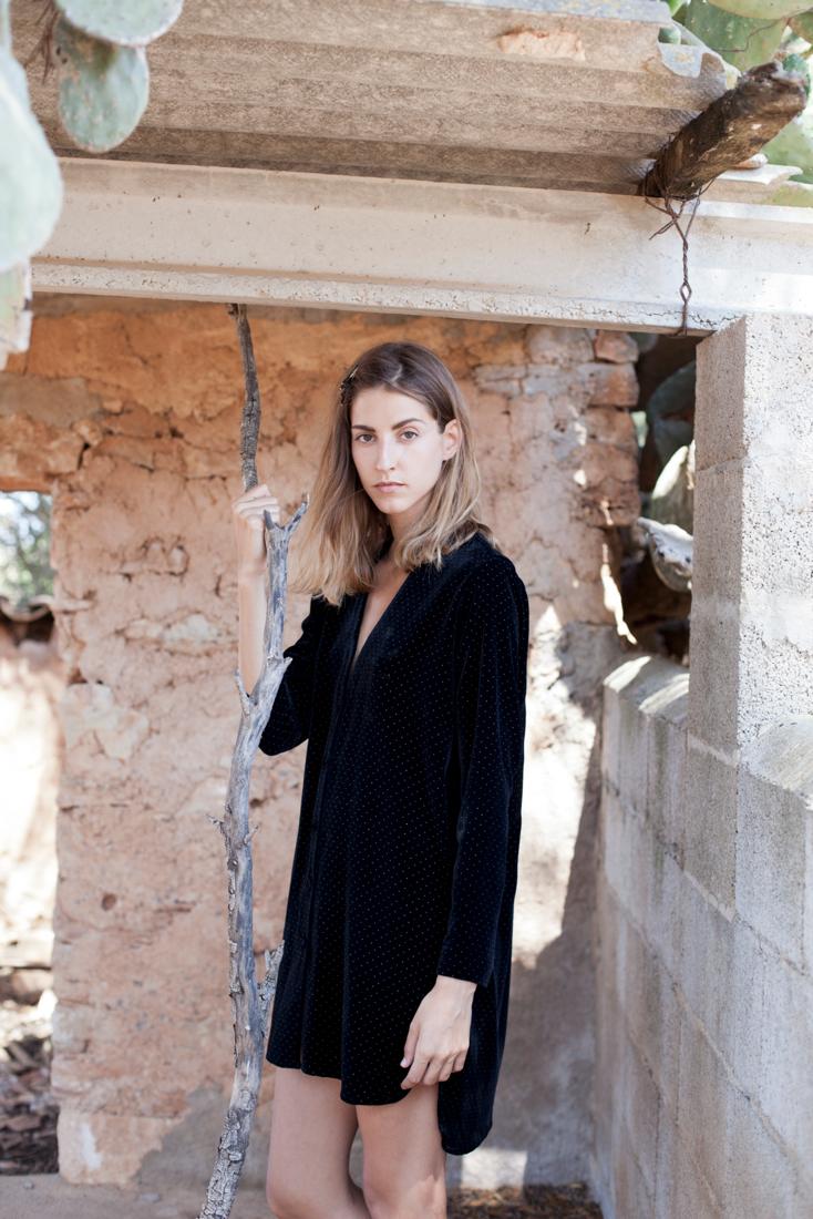 Tatiana Pico Velvet Shirt