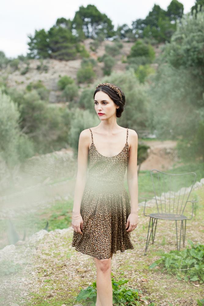 Fiona Leopard Print Skirt