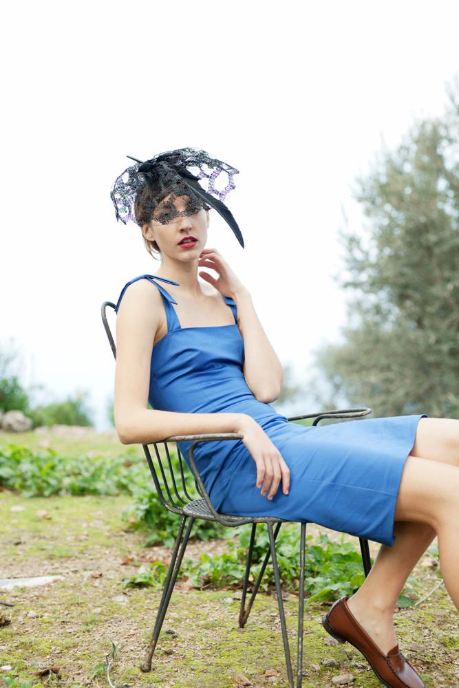 Emily Blue Dress