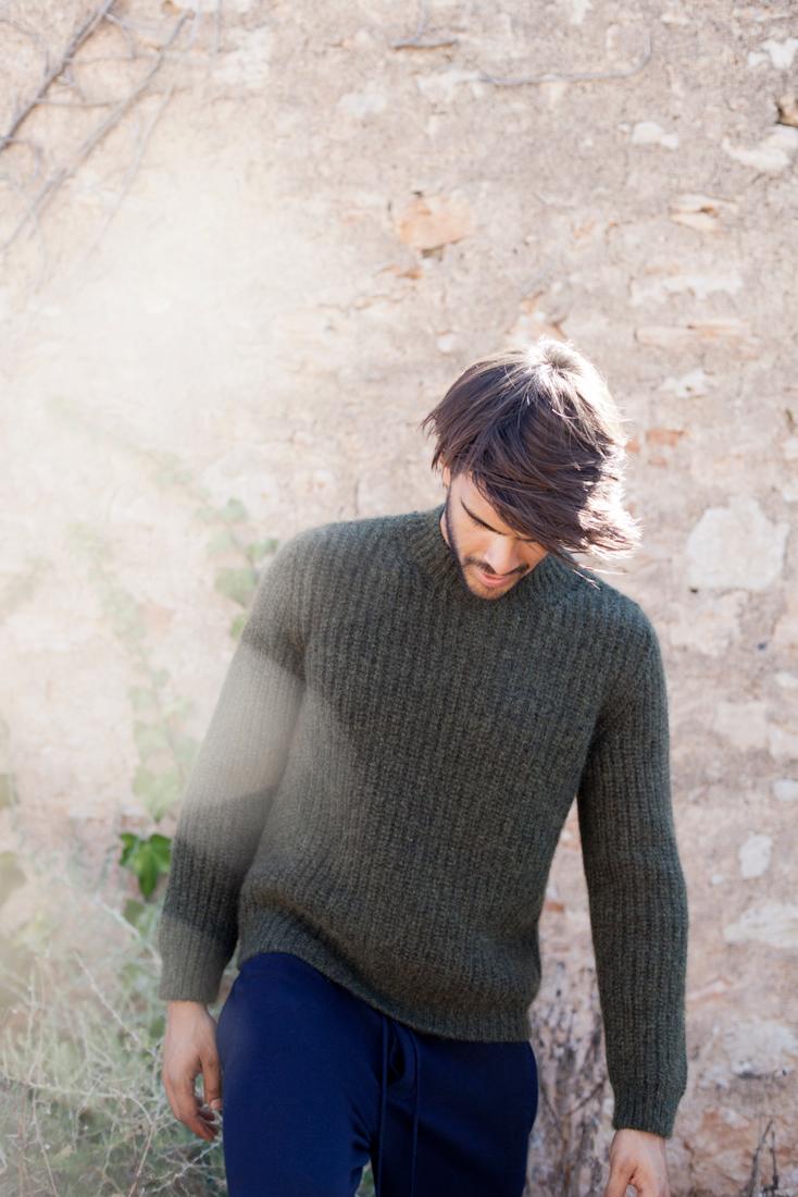 Biel·lo Kaki Cashmere Pullover