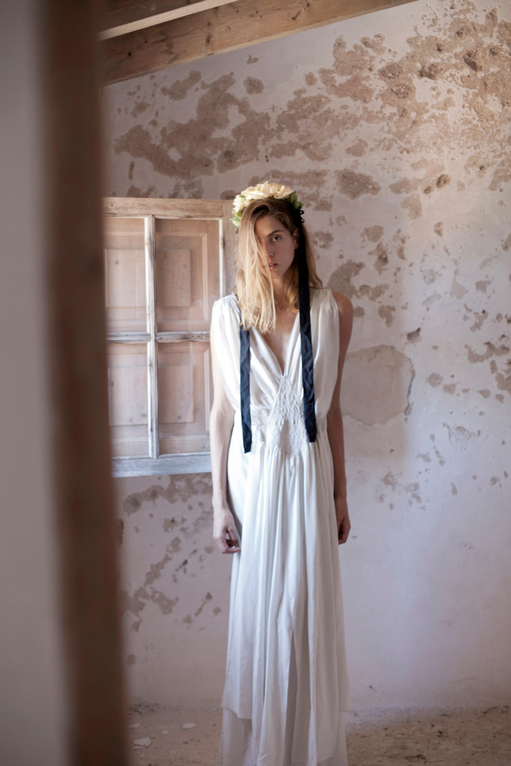 Olympia White Dress