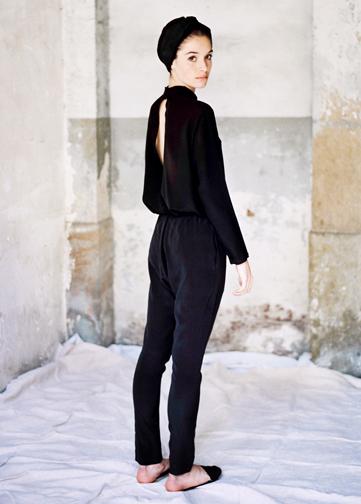 Chandal Silk Trousers