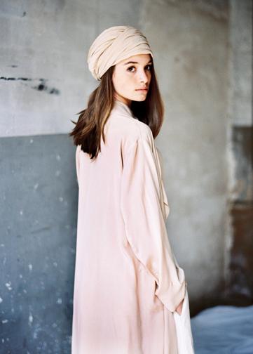 Silk Nude Turban