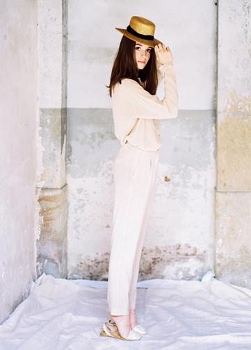 Pitillo Silk Trousers