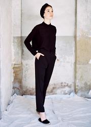 Male Silk Trousers