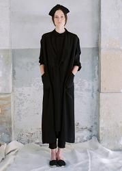 Aki Silk Coat