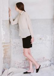 Mini Silk Skirt