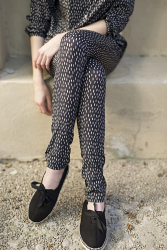 Skinny Black Seed Trousers