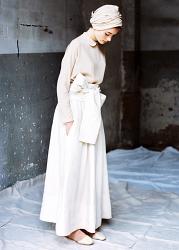 Payesa Lino Skirt