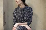 Carmela Black Seed Shirt