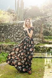 Victoria Flowers Dress
